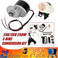24V/36V 250W ELECTRIC BICYCLE MOTOR KIT E-BIKE CONVERSION KIT SIMPLE DIY EBIKE