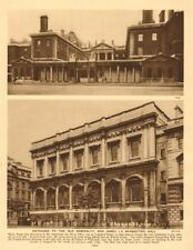 Old Admiralty, 26 Whitehall (Thomas Ripley). Now DFID. The Banqueting Hall 1926