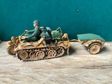 Airfix Or Similar: German Armored Motorcycle, 1940. Post War