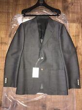 Genuine Valentino adaptados Blazer Mezcla De Seda Lana IT50 UK40