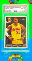 2009 LeBron James Goodwin Champions #73 PSA 8