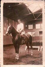 VERA FOTO MILITARE REGIO ESERCITO A CAVALLO CAVALIERE CAVALLERIA 1939  C6-461