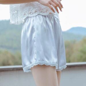 For Dress Satin Women Boxer Panties Women's Breeches Lace Safety Shorts Pants