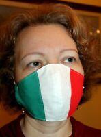 MASCHERIN LAVABILI 100% COTONE SARTORIALI con TASCA FILTRO PROTETTIVA ITALY