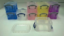 Plastic Box Crafts Beads Jewelry Storage Container/Boxes/Case Loom Bands Fit