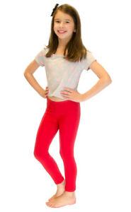 Vivian's Fashions Long Leggings - Girls, Cotton