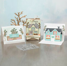 Metal Cutting Dies Cut Die House Villa Scrapbooking DIY Paper Card Craft Cuts