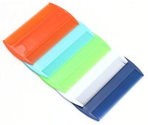 2 x Random Plastic Ultra Fine Nit LICE Comb Children Hair nit remover Dual sides