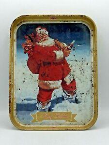 Coca Cola 'Merry Christmas'  Vassoio Pubblicitario  in Latta 28x21x3cm