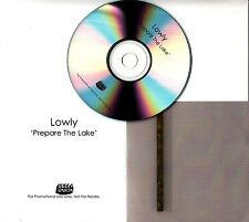 LOWLY Prepare The Lake 2017 UK 1-track promo test CD Bella Union