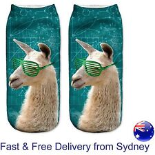 Smart cool Alpaca sunnies socks - Clever llama maths formula gift novelty sock