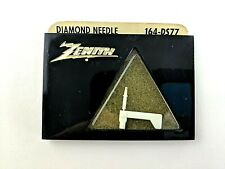 Vintage Zenith Diamond Needle Stylus 164-DS77 White New in Package