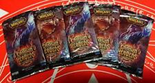 WOW TCG ITALIAN Chrown of the Heavens LOT OF 5 Sealed Booster Packs