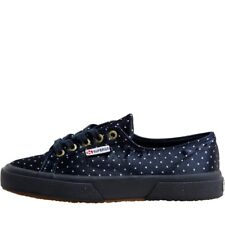 SUPERGA 2754 efglu Hi Tops amaranto UK 3 EU 35.5 US 5.5 nuovo con scatola