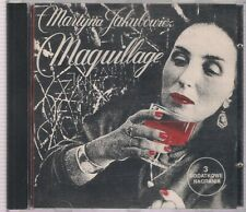 MARTYNA JAKUBOWICZ MAQUILLAGE 1991 CD LION RECORDS 1 PRESS TOP RARE OOP