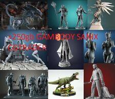 Pack Stl Premium Gambody Sanix CGTrader STAR WARS MARVEL ANIME GOT