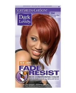 DARK&LOVELY Fade Resist Rich Conditioning Hair Color #394 Vivacious Red