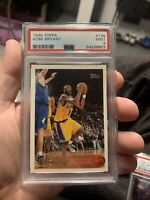 1996 Topps Basketball Kobe Bryant ROOKIE RC #138 PSA 9 MINT
