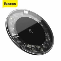 Baseus 15W Qi Wireless Charger Fast Charging Pad for iPhone Airpod 11 Pro Max