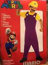 Super Mario Wario Costume Boy M(8)