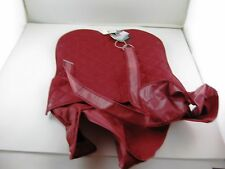 "Doggiduds Slicker Coat Red Maroon #1505 NOS Sz 16"" Removable Lining"