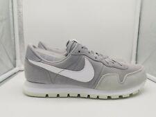 Nike Air Pegasus 83 LTR UK 6 Wolf Grey White Pure Platinum 827922-002