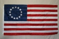 5x8 Embroidered Sewn Betsy Ross 300D Nylon Flag 5'x8' Banner Grommets