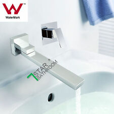 For Shower Set Chrome Swivel Square Bath Spout Faucet W/Shower Flick Mixer Tap