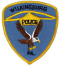 WILKINSBURG PENNSYLVANIA PA Police Sheriff Patch FLYING EAGLE ~