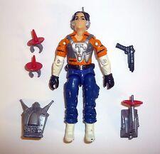 Gi Joe Tiger Force Psique Fuera Vintage Acción Figura GB COMPLETO C8 V1 1990