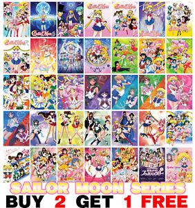 Sailor Moon Poster Anime Manga Art Print Wall Home Room Decor Bishoujo Senshi