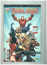 MARVEL HEROES      n° 1    11/07    TTBE