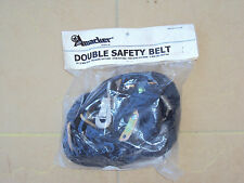 "AMACKER 2"" Webbing DOUBLE SAFETY BELT with Buckle"