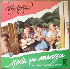Los Andinos Hasta Que Amanezca Navidad Puerto Rico Canta Asi 1988 RS Mint