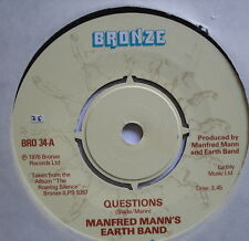 "MANFRED MANN'S EARTH BAND - You Angel You - Excellent Condition 7"" Single BRO 68"