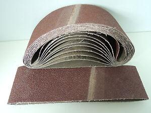 75 x 533 mm Schleifband Schleifbänder Schleifpapier für Bandschleifer