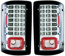00-05 FORD EXCURSION CLEAR LED TAILLIGHTS TAIL LIGHTS