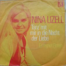 """7"""" ´71! NINA LIZELL Tanz mit mir in die Nacht der Liebe"""