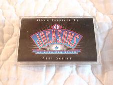 THE JACKSONS AN AMERICAN DREAM MINI SERIES CASSETTE MICHAEL JACKSON 5 FIVE R&B