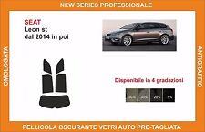 pellicola oscurante vetri SEAT leon st dal 2014 in poi kit posteriore