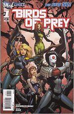 BIRDS OF PREY #1-12 - JORGE MOLINA COVER - DC's THE NEW 52 - 2011