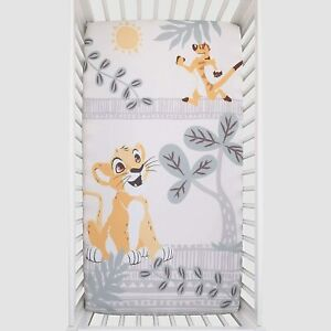 """Disney Lion King Baby Fitted Crib Sheet ONLY-  52"""" x 28"""" SEE DETAILS 👓"""