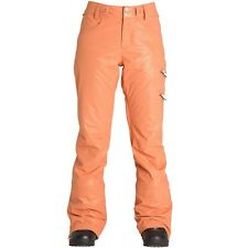BILLABONG 2017 Women's BRIGHT BLIZZARD Snow Pants - Copper - Large - NWT