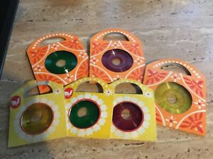 6 Kinderschallplatten für Sprechpuppe oder Juniorfon Spielzeugplattenspieler DDR