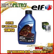 KIT TAGLIANDO 4LT OLIO ELF MOTO 4 ROAD 15W50 BMW R1150 R 1150CC 2001-2006 + FILT