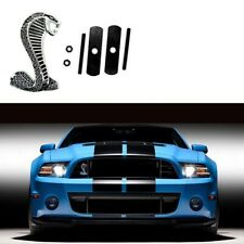 COBRA Front Grille Metal 3D Badge for Ford Mustang Running Brand New