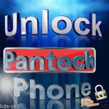 All Pantech Mobile Phone Unlock Code P9020 P9050 P9060 P9070 C600 C610 C630 C740