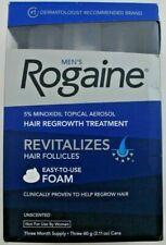 Mens Rogaine 5% Minoxidil Hair Regrowth Treatment Foam - 1, 2, 3 Months Supply