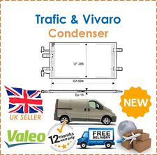 For Renault Trafic + Vauxhall Vivaro Valeo Aluminium Condenser, Air Conditioning