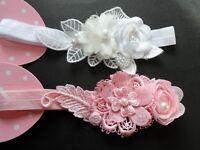 baby/girls velvet hair bow/headband/hairband/bridal/babyshower/christening,gifts